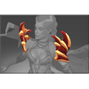 Inscribed Shoulders of the Dark Angel