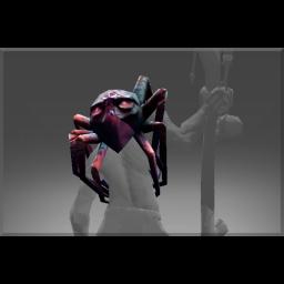 Inscribed Spider Shoulders of Purple Nightmare