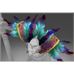 Corrupted Feathered Mantle of the Arkturan Talon