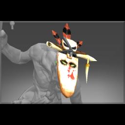 Frozen Horn Mask