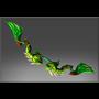 Inscribed Iguana's Bow