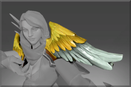 Gilded Falcon Wings