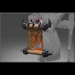 Corrupted Warlock's Summoning Scroll