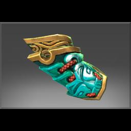 Inscribed Gauntlet of the Dreadborn Regent