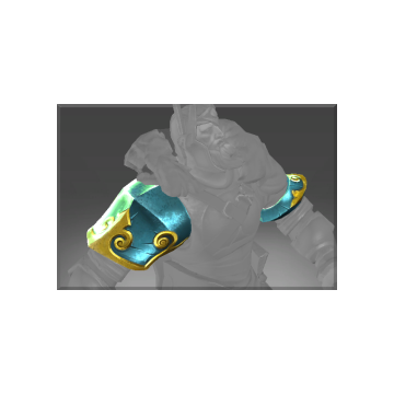 free dota2 item Inscribed Pauldrons of the Year Beast