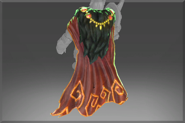 Inscribed Cape of the Dead Reborn