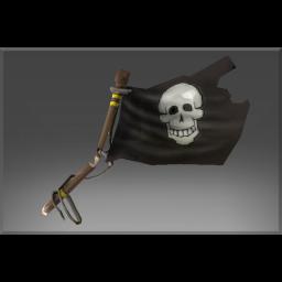 Cursed Pirate Slayer's Black Flag