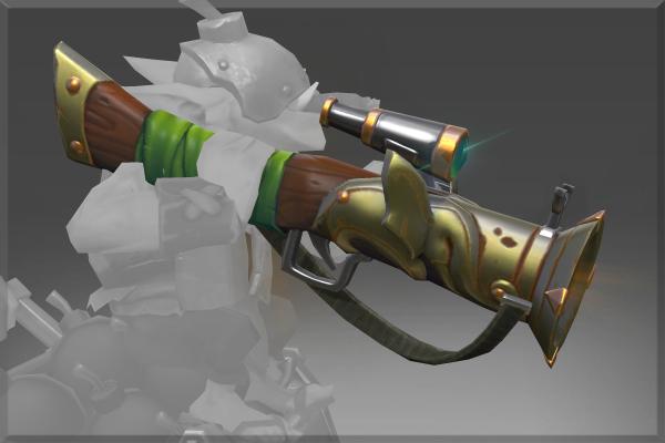 Inscribed Pachyderm Powderwagon Weapon