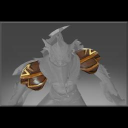 Auspicious Pangolin Shoulder Armor