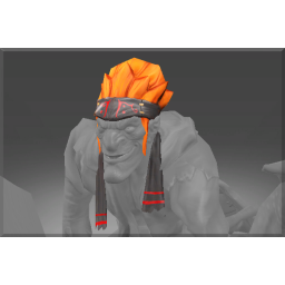 Frozen Flamestitched Suitings Bandana