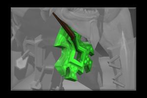 Frozen Emerald Frenzy Amulet
