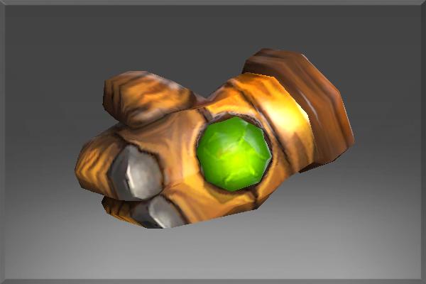 Auspicious Emerald Frenzy Glove