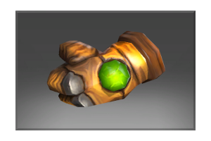 Frozen Emerald Frenzy Glove
