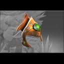 Auspicious Emerald Frenzy Helmet