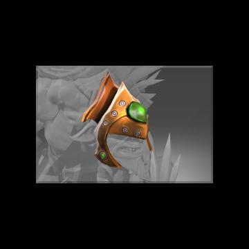 free dota2 item Auspicious Emerald Frenzy Helmet