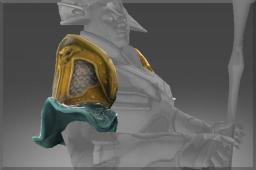 Desert Gale Shoulder Plate