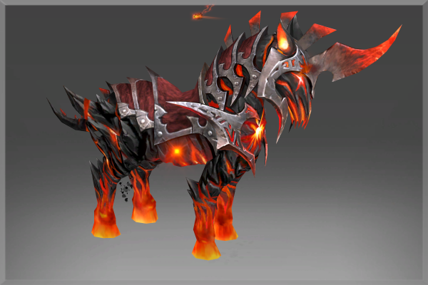Inscribed Mount of the Burning Nightmare