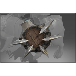 Inscribed Shield of the Chaos Hound