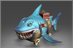 Autographed Hexgill the Lane Shark