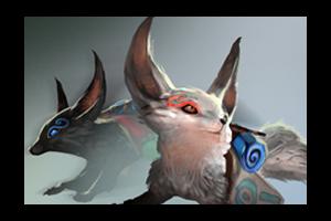 Unusual Jin And Yin Fox Spirits