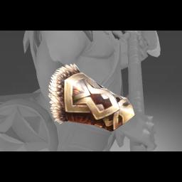 Inscribed Bracers of the Unbroken Stallion