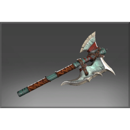 Autographed Bloodrage Axe