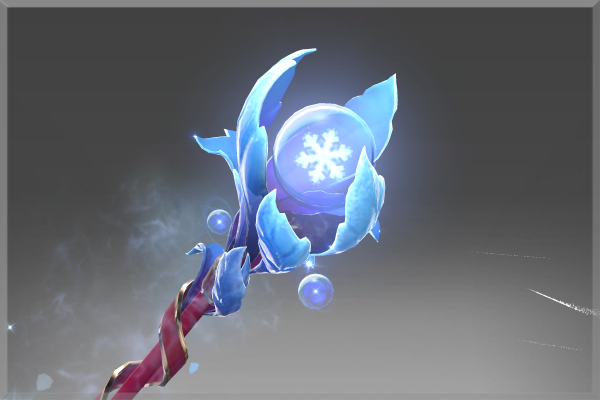 Inscribed Ice Blossom