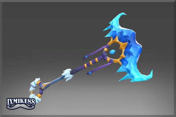 Staff of the Glacier Duster