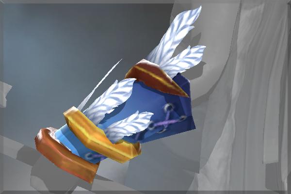 Auspicious Bracers of the Frozen Feather