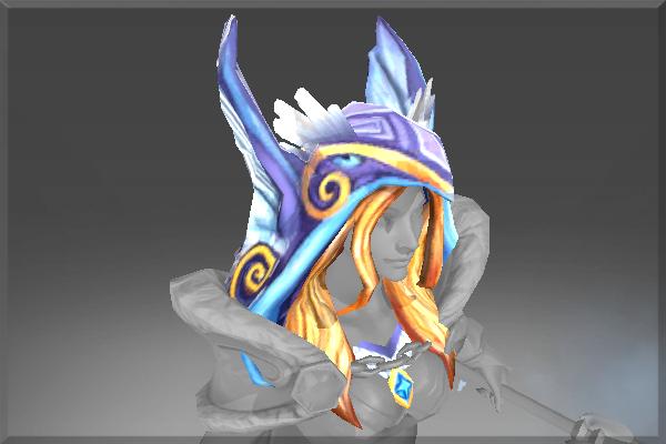 Auspicious Hood of the Frozen Feather