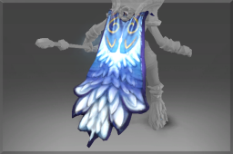 Auspicious Cape of the Frozen Feather