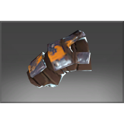 Corrupted Ogre's Caustic Steel Bracers