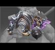Toxic Siege Armored Saddle