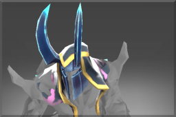 Horned Helm of the Frozen Apostle