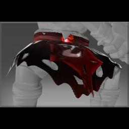 Autographed Red Mist Reaper's Belt