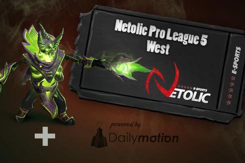 Buy & Sell Netolic Pro League 5 West Ticket