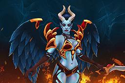 Inscribed Dark Angel