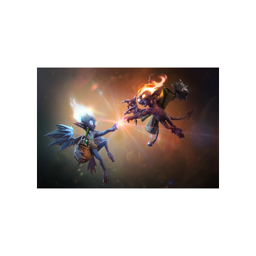 free dota2 item Unusual Antipode Couriers