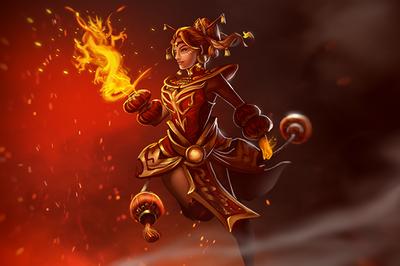 Genuine Загрузочный экран «Dragonfire»
