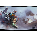 Genuine Dwarf Gyrocopter Loading Screen