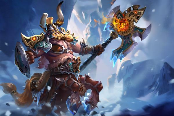 Загрузочный экран: Iceplain Ravager