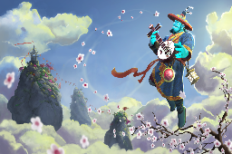 Blossoming Harmony Loading Screen