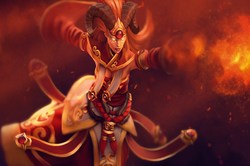 Загрузочный экран «Divine Flame»