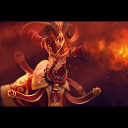 Inscribed Divine Flame