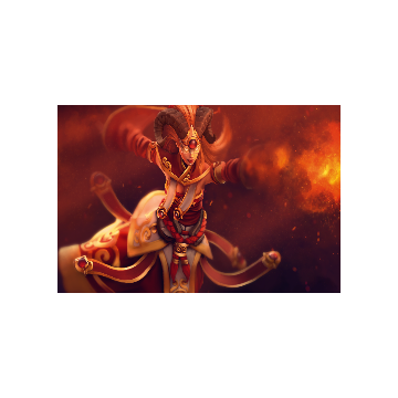 free dota2 item Divine Flame Loading Screen