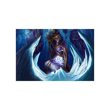free dota2 item Icebound Floret Loading Screen