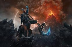 Загрузочный экран «Might of the Galloping Avenger»