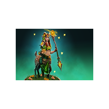 free dota2 item Amberlight Loading Screen