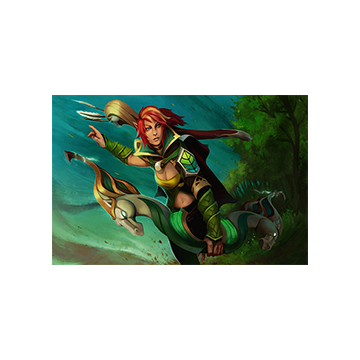 free dota2 item Aria of the Wild Wind