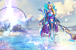 Glacial Magnolia Loading Screen